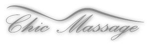Chic Massages Logo Grayscale